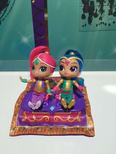 Nickelodeon's Shimmer and Shine show comes to life with the Fisher-Price Shimmer and Shine Magic Fly... - Fisher Price