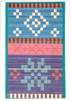 """Fride"" rug in bamboo – Bathroom – GUDRUN SJÖDÉN – Webshop, mail order and boutiques 