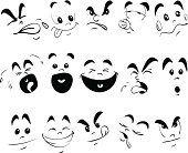 Children Face Expression Doodle