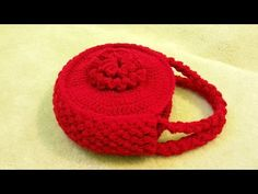 #Crochet Flower Handbag Purse #TUTORIAL Free crochet project - YouTube
