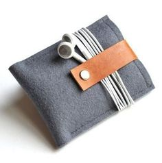 DIY iPod/iPhone case idea | Wool Felt Cases Give Your Gadgets A Plush Life | Lifehacker Australia
