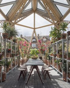 Maggie's Centre Dining Table and Greenhouse Table | Foster + Partners