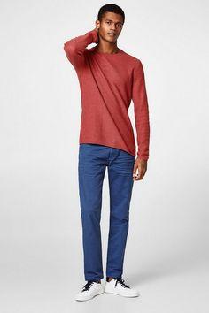 EDC BY ESPRIT Stretch-Jeans mit Wrinkle-Effekt für 49,99€. Stretch-Jeans mit Wrinkle-Effekt, Dein unverzichtbares Fashion-Basic: bei OTTO