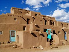Taos Pueblo, New Mexico: I think I'm in love with the American Southwest. And I haven't even seen it yet.
