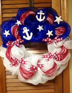 Shauna's Patriotic Wreath