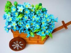 Kvety, fotopostupy | Tortyodmamy.sk Fondant Cakes, Gum Paste, Cake Toppers, Planter Pots, Clay, Inspiration, Flowers, Birthday Cakes, Christening