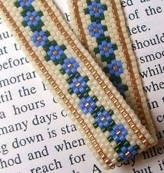 google images narrow peyote bracelets | peyote bracelet patterns - Google Search | Bead projects
