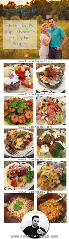 This is my list of Top Ten 21 day fix recipes and I urge you to try them. There is a recipe in here for everyone from @fitmomangelad blog: http://www.fitmomangelad.com/my-husbands-top-10-21-day-fix-recipes/