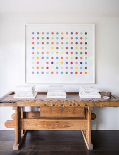 mix modern artwork with vintage furniture/ domino Minimalist Interior, Minimalist Home, Things Every Girl Should Have, Sweet Home, Idee Diy, Los Angeles Homes, Modern Artwork, Mixing Prints, Interior Inspiration