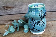 A personal favorite from my Etsy shop https://www.etsy.com/listing/453596636/stoneware-coffee-or-tea-mug-beverage-cup