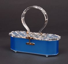Charles Kahn lucite handbag | Lucite purse - photo courtesy Lucite Inc.