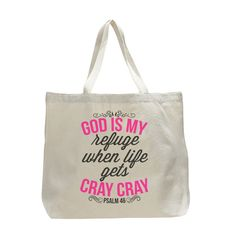 custom printed religious tote. Available for purchase at Boardman Printing