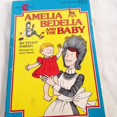 Amelia Bedelia and the Baby - Vintage Kids  Book 1982 by RetroVintageHeart on Etsy