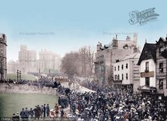 Windsor, Castle Hill 1906.