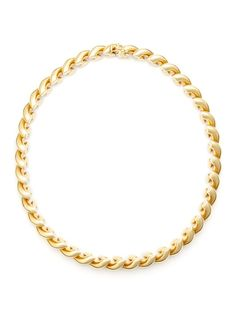 Tiffany & Co. Gold Twisted Necklace by Patrizia Ferenczi Inc. on Gilt