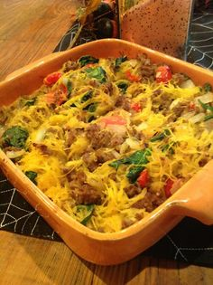 Tweet TweetSpaghetti Squash Casserole I have to say, I haven't made very many paleo casseroles. As I think about items to bring to a family holiday meal, the word casserole keeps coming to my mind. So I made this one …