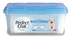 8in1 Perfect Coat Bath Wipes Puppy 100pk