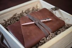 Crafting A Hand-Sewn Messenger Leather Journal | Rustico