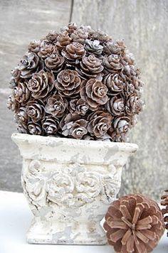 Decoraciones de navidad con materiales naturales   El blog de LosAbalorios.com