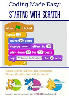 Introduce your kids to coding and computers with Scratch