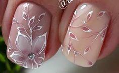 Stylish nail design Spring 2019 Top 10 Trendy Fashion Ideas by Nail art Nail Art Designs, New Nail Art Design, Elegant Nail Designs, Flower Nail Designs, Elegant Nails, Stylish Nails, Trendy Nails, Nail Design Spring, Spring Nail Art