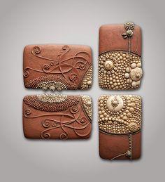 Chris Gryder... ceramics... organic textures