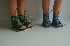 Сандалии для Паолочек / Одежда и обувь для кукол - своими руками и не только / Бэйбики. Куклы фото. Одежда для кукол