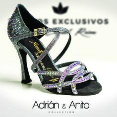 Zapatos de baile · Adrián & Anita Collection · Zapatos hechos a mano · Made In Spain