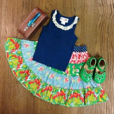 Matilda Jane (MatildaJaneGals) on Twitter Little Girl Fashion, My Little Girl, Girl Outfits, Cute Outfits, Jane Clothing, Girl Closet, 1 Girl, Girl Things, Tween Girls