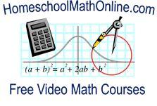 free homeschool math courses