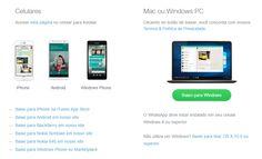 WhatsApp lança aplicativo nativo para Windows e Mac. http://www.michellhilton.com/2016/05/whatsapp-para-mac-e-windows.html
