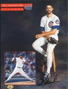 """Paul Assenmacher Chicago Cubs Autographed 8x10 Magazine Cut Out Photo SL COA . $12.00. Chicago Cubs PitcherPaul AssenmacherHand Signed 8x10""""Magazine Cut Out Photograph.GREAT AUTHENTIC BASEBALL COLLECTIBLE!!AUTOGRAPH GUARANTEEDAUTHENTIC BY SPORTS LOT, INC. WITH NUMBEREDSPORTS LOT, INC.STICKER ON ITEMSPORTS LOT COA.#: 8564"""