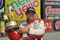 Mike Janis takes Pro Mod Wally in Norwalk (photo: NHRA Media0
