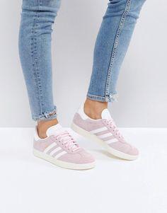 rosa, scarpe adidas gazzella scarpe pinterest adidas gazzella