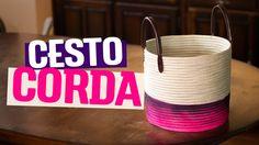 DIY - CESTO DE CORDA