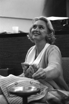 """Celeste Holm rehearses for the 1965 television adaptation of Rodgers & Hammerstein's musical, """"Cinderella"""". Celeste Holm, Rodgers And Hammerstein's Cinderella, Leslie Ann, Richard Rodgers, Classic Films, Old Hollywood, Love Story, Musicals, Broadway"""