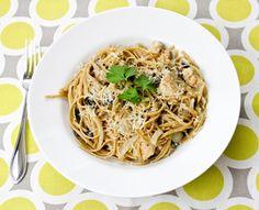 Secrets of a Marathoner: Whole Wheat Pasta + Grilled Chicken + Salt #Reliv #diet