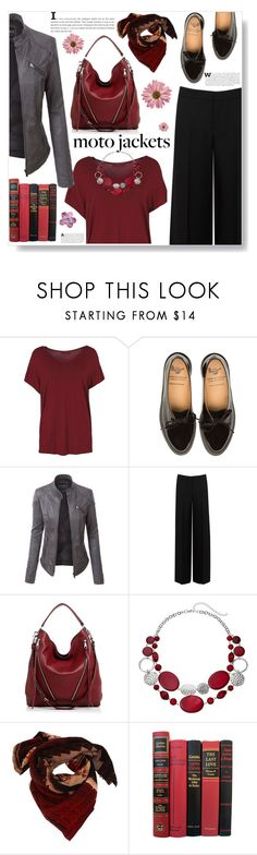 """""""Street style"""" by ucetmal-1 ❤ liked on Polyvore featuring LE3NO, Alexander McQueen, Rebecca Minkoff and Faliero Sarti"""