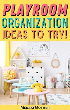 Keep your kids playroom organized and tidy with these 8 genius playroom organization hacks that everyone needs to know! #playroom #organization #organize #toys #storagehacks #organizehacks Playroom Organization, Home Organization Hacks, Storage Hacks, Organizing Ideas, Toy Storage Furniture, Playroom Furniture, Lego Table With Storage, Getting Organized At Home, Fabric Boxes