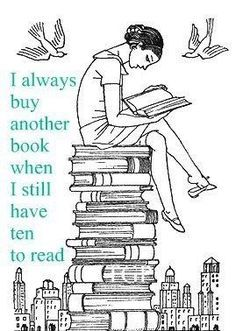 Probably cause the books that I do have to read were offered by people as gifts and I just don't feel like reading them when there are thousands of books on my to read list.