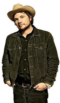 Jeff Tweedy of Wilco rocking a Stetson Open Road.