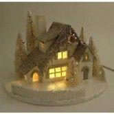 Resultado de imagen de Free Pattern Cardboard Christmas Houses