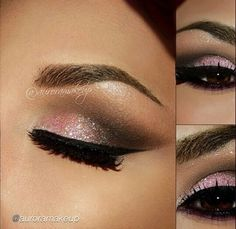 Eye Makeup Must-Try: Navy & Purple Smokey Eye - We're surrounded by shimmer and glitter at every turn this time of year, but let's not forget about the beautiful, velvety matte shadows. Description from pinterest.com. I searched for this on bing.com/images