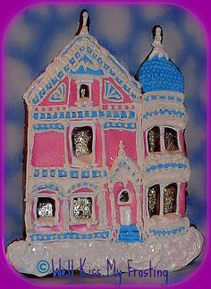 Victorian House Cookie by me, Well Kiss My Frosting on Flickr