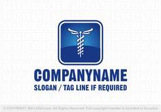 Pre-designed logo 4811: Medical Caduceus Logo
