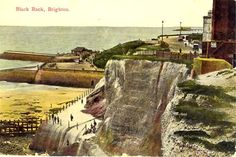 Postcards of the Past - Vintage Postcards of Brighton, Sussex Brighton Sea, Brighton Marina, Brighton And Hove, Black Rock, Local History, Vintage Travel Posters, Vintage Postcards, Old Photos, The Past