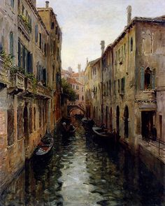 Louis Aston Knight - Rio St. Aponal, Venice