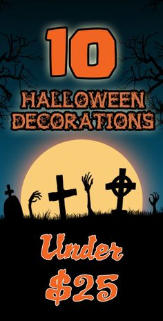 10 Halloween Decorations Under $25