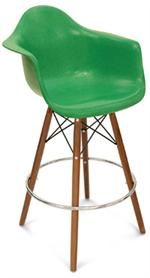 A Counter Stool Dowel Swivel Arm Shell Modernica at www.Accurato.us