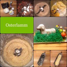Ein Osterlämmchen  – hach wie süüüüß … und lecker!  Euch allen schon jetzt:  FROHE OSTERN!